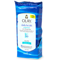 Oil of Olay wipes