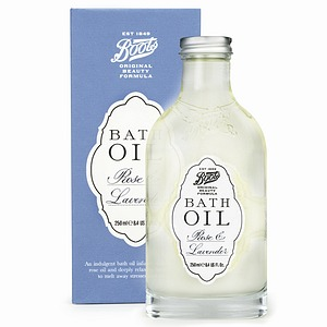 Boots bath oil
