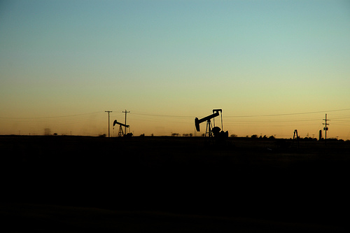 Oklahoma Sunset, Oil Well 2