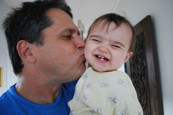 Pigtail & dad
