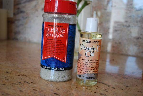 Sea salt & vitamin E oil