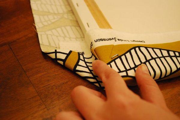 Fabric folding edges