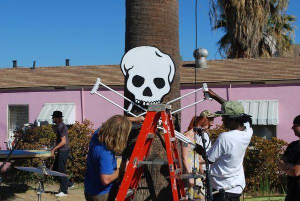 Music video skull