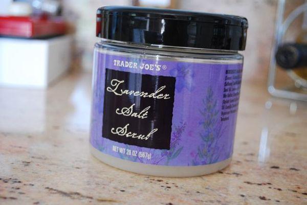 Trader joes lavender salt scrub