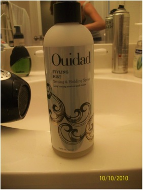 Ouidad styling mist