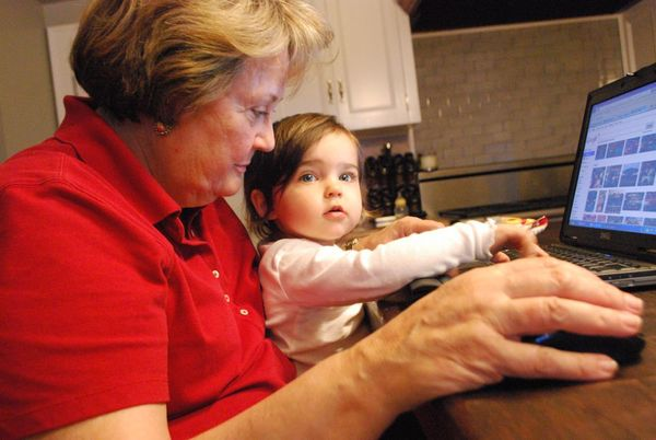 Grandmother & pigtail