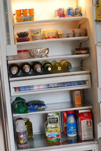 Tidy fridge