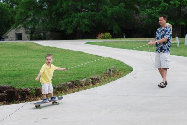 Easter skateboard