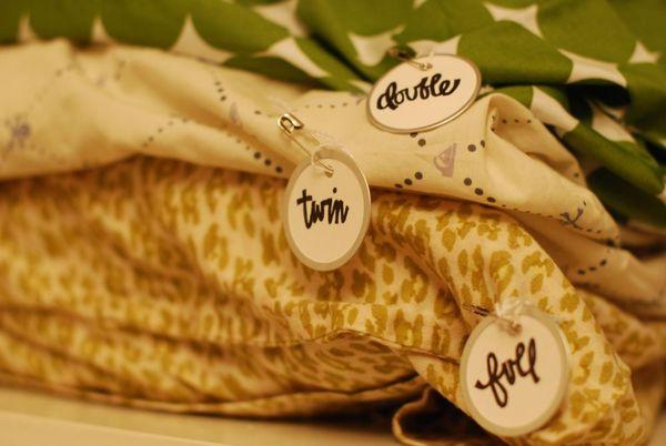 Nesting linens