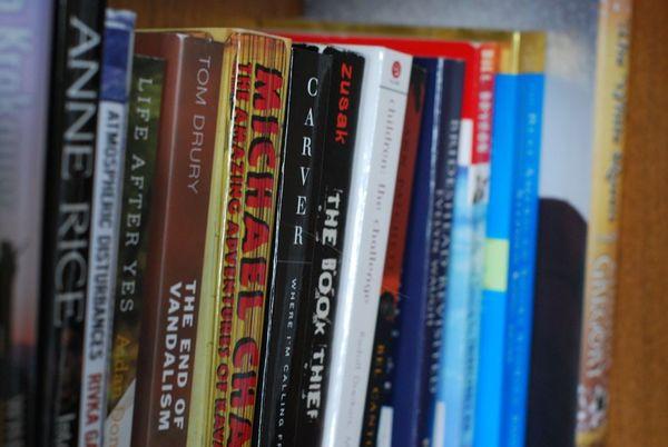 Nesting bookshelf