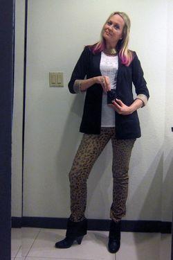 Vegas leopard pants