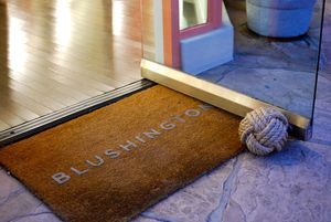 Blushington doormat