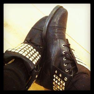 Michael kors studded boots