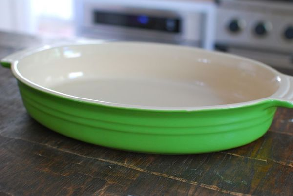 Lime green le creuset