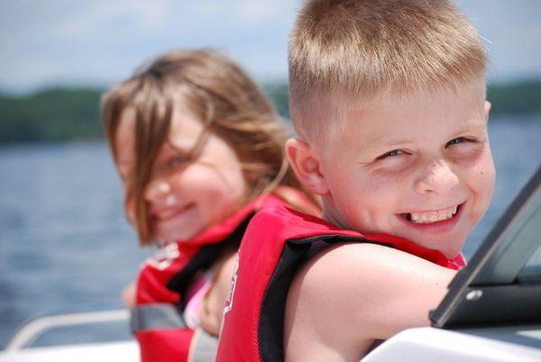 Z on boat