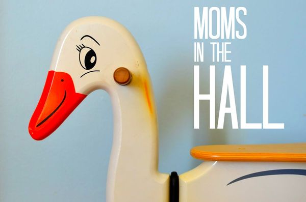 Moms in the hall
