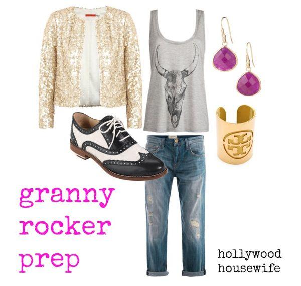 Granny rocker prep   hollywood housewife
