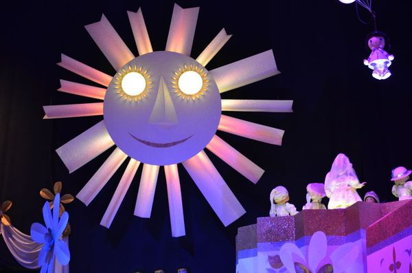 It's a small world sun