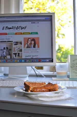 One day lunch & blogging2