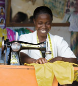 World vision sewing machine