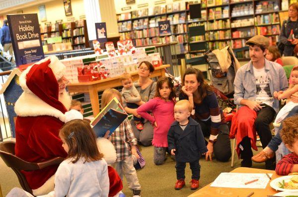 Santa & me santa reads