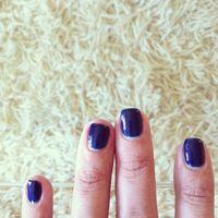 2012 navy nails