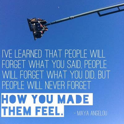 People will never forget how you made them feel | hollywood housewife