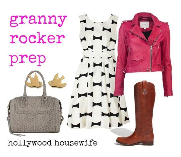 Granny rocker prep 2   hollywood housewife