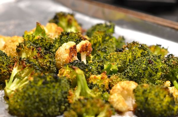 Roasted broccoli | hollywood housewife