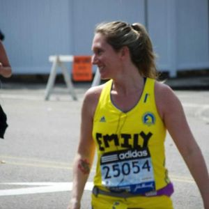 Boston marathon emily running