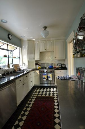 Silverlake home kitchen on hollywood housewife