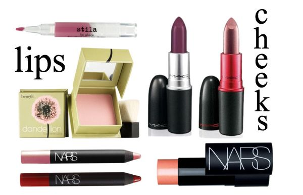 HH favorite products for lips & cheeks