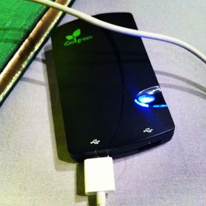Igo green charger