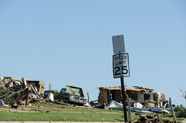 Oklahoma tornado speed limit
