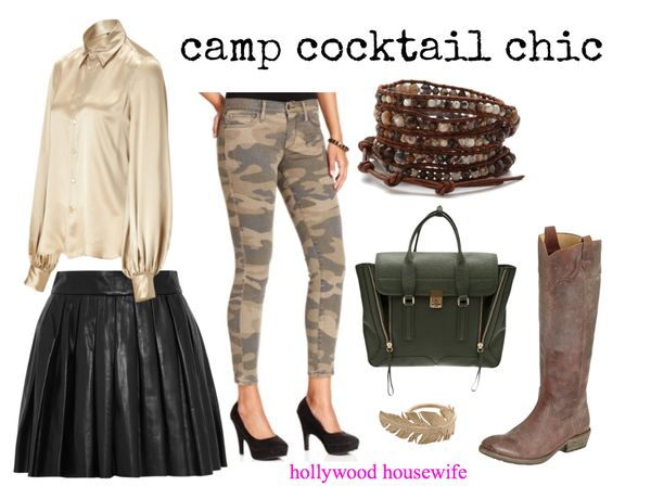 Camp cocktail chic