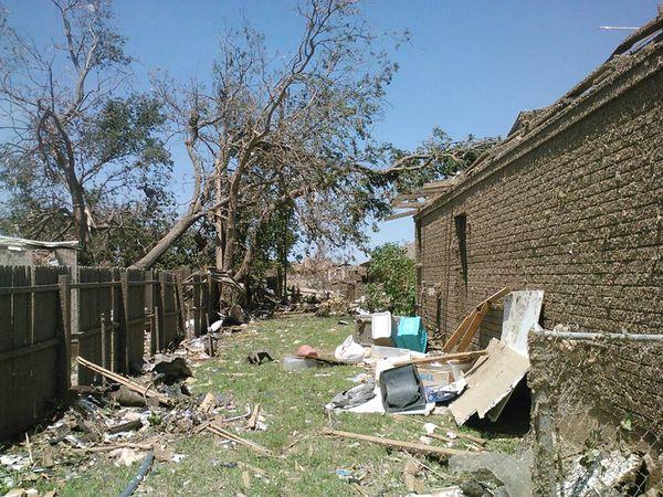 Oklahoma backyard