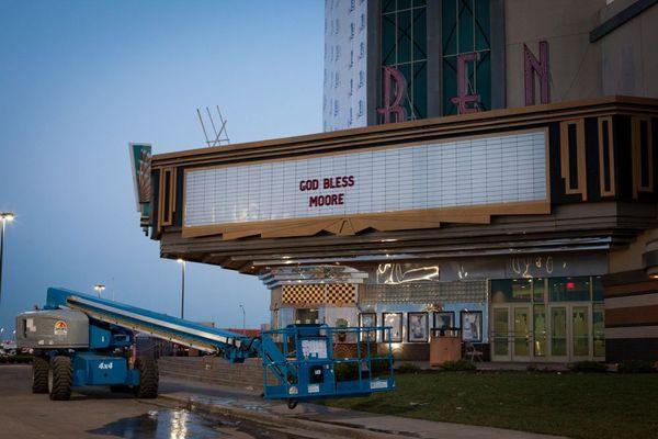 Oklahoma tornado warren theater