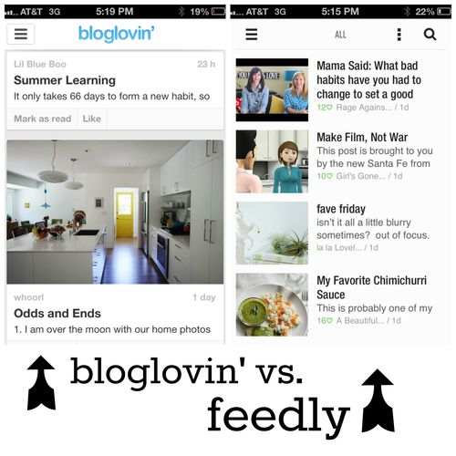 Blog lovin vs feedly