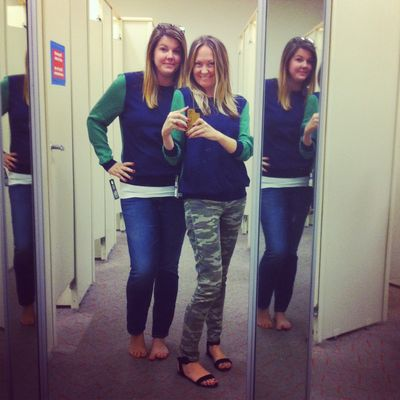 Phillip lim for target blue and green sweater