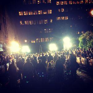 London premiere lights