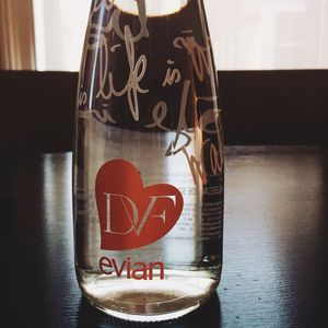New york DVF evian
