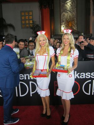 Los angeles movie premiere candy girls
