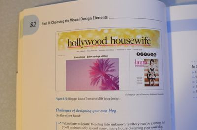 Blog design for dummies | hollywood housewife