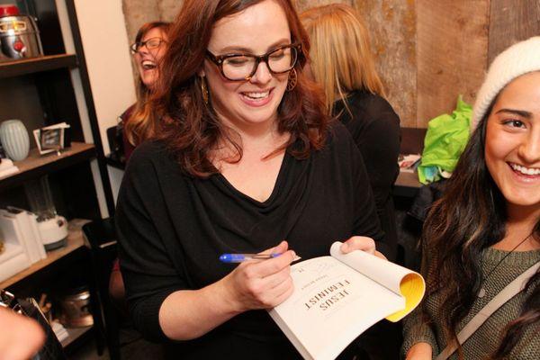 Jesus feminist party sarah bessey signing