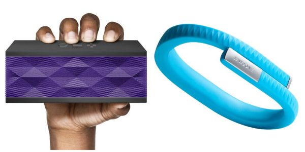 Jawbone jambox and UP band | hollywood housewife