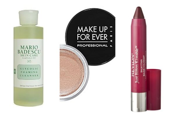 Mario badescu make up for ever revlon just bitten
