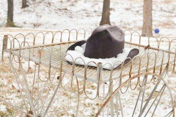 Oklahoma ice cowboy hat