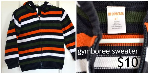 GS4O sale - gymboree boys sweater