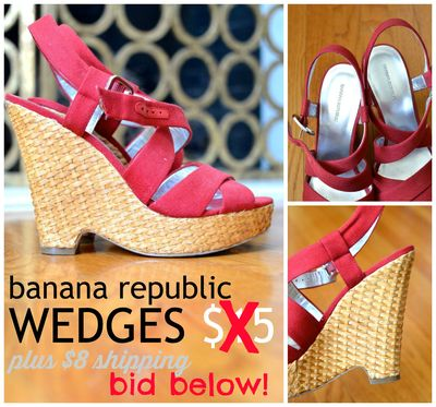GS40 sale - banana republic wedges2