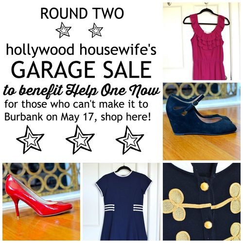 Hollywood Housewife Virtual Garage Sale, round 2
